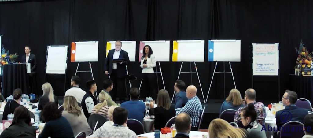 On-stage at Scale Your Sales Retreat Gold Coast